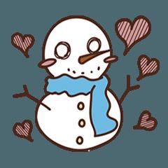 雪だるまの赤ちゃん (スノーマン ベイビー)