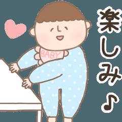 動く✩赤ちゃんスタンプ