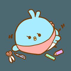 [LINEスタンプ] ブンチョーと文具のゆるっと日常 (1)