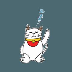 魔法使いのかわいい招き猫スタンプ第二弾