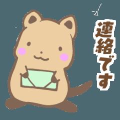 幸運のクアッカワラビー【毎日使える40個】