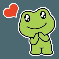 SPARKLY EYES: カエル