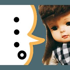関西弁のお人形さん