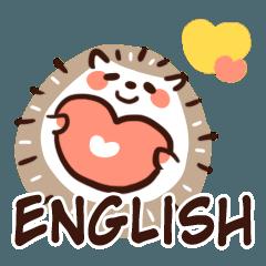 パステルのハリネズミ2 (日常用/英語)