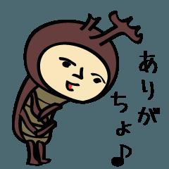 猛暑に負けるなカブトムシと蝉の日本の夏