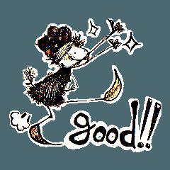 ミノムシちゃんと林檎の物語