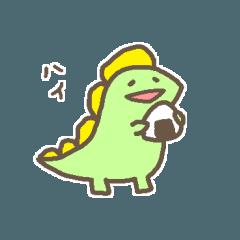 かわいい恐竜さんの日常会話スタンプ(2)