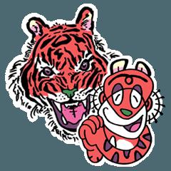赤い虎トラ次郎
