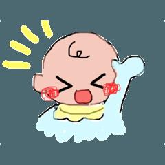 Babyスタンプ3(*´꒳`*)