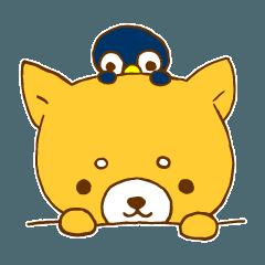 柴犬ポチのスタンプ~日常編~