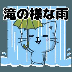 大雨・台風・嵐・梅雨等天気大荒れのときに
