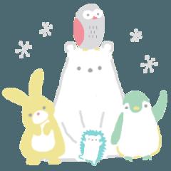 北欧◉毎日使える動物たち