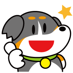 ぶっちょスタンプ バーニーズ 1