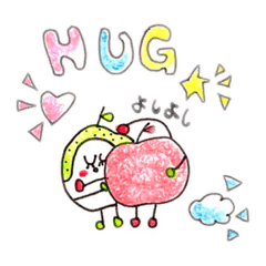 梨ちゃんと林檎ちゃん☆ by happy happy