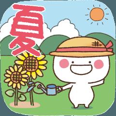 [LINEスタンプ] まるる◎夏