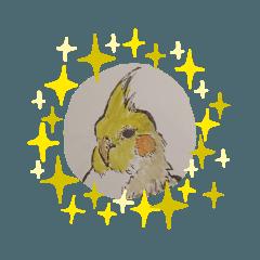 5分以内で描かれた鳥