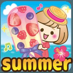 おかっぱ女子【夏の日常】