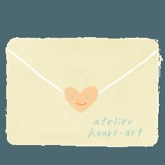 ハートの手紙