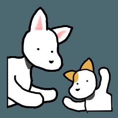 二匹の犬は友達