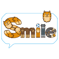 キャラモジ/ 犬の文字