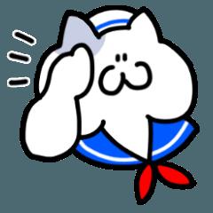 [LINEスタンプ] 猛暑に怒る猫達