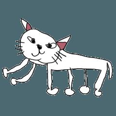 足が6本の猫と愉快な仲間たち