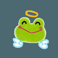 ゆるふわカエル天使「敬語編」