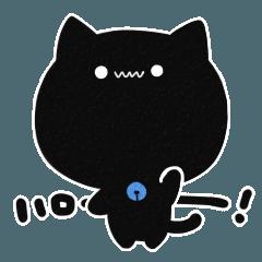 黒猫かもしれないスタンプ