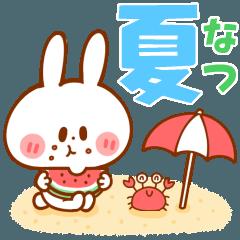 夏うさくん【男性用】海・花火・暑い