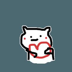 [LINEスタンプ] かわいいやつ- (1)